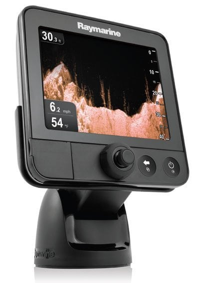 Raymarine Introduces New CHIRP Powered Dragonfly™ Sonar/GPS with