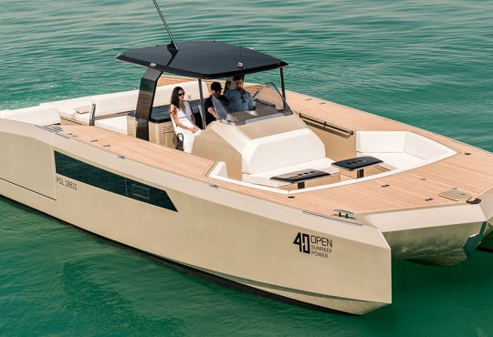 Sunreef Yachts 40 open sunreef Multihulls Magazine